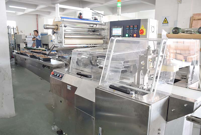 fruit wrapping machine