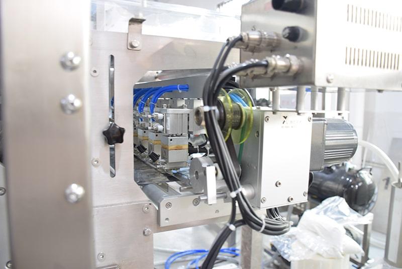 Multi Line Side Sealing Bag Granule Packing Machine.