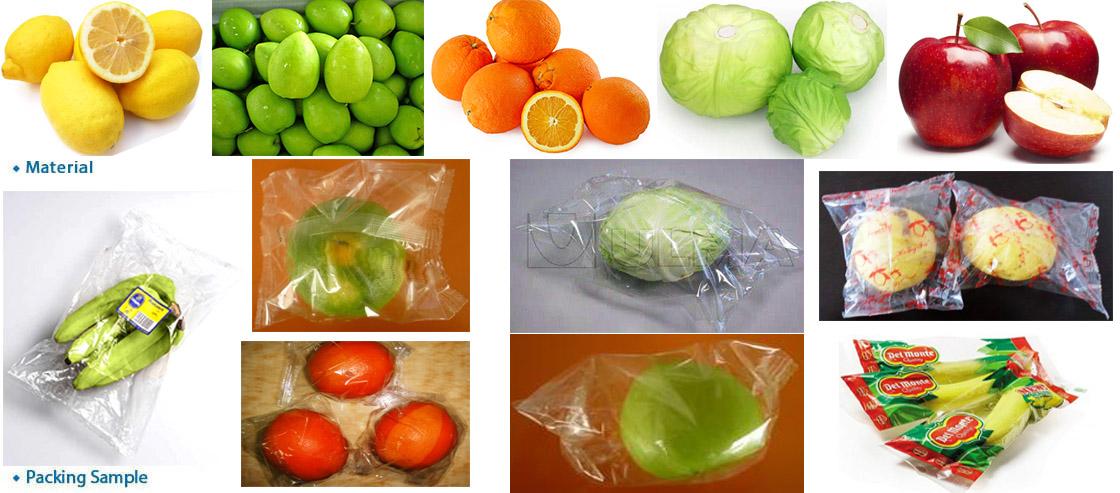 HFFS fruit and vegetable flow wrap machine LP-350G