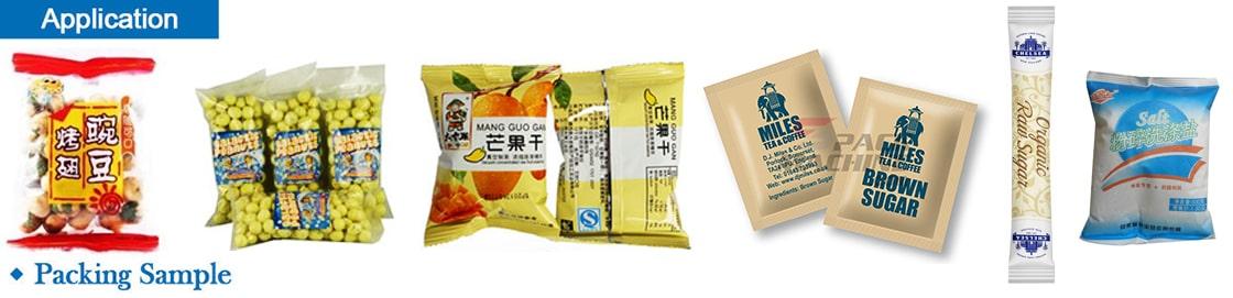 Sugar/ Salt/ Candy/ Ginger Candy/ Sugar Cubes Packing Machine