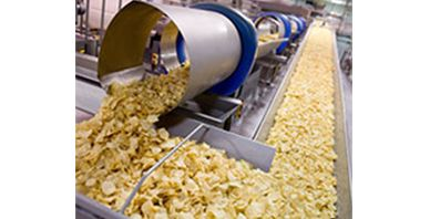 Potato Chip Centralized Feeding and Packing System