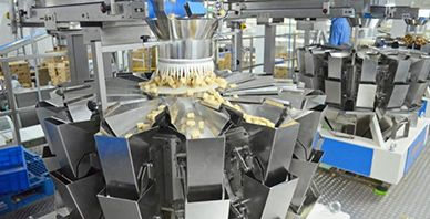 Snack Centralized Feeding Packaging System