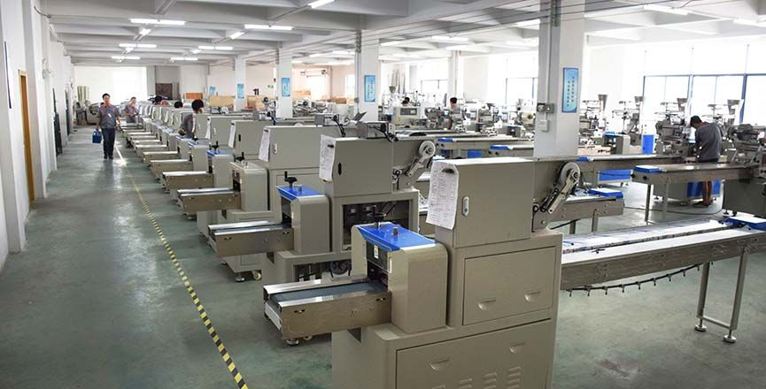 Flow Wrap Machine Production Base