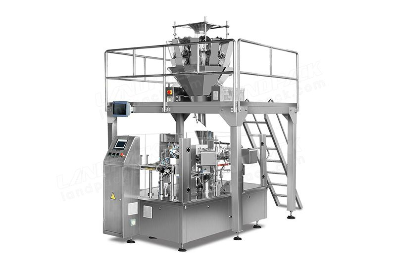 Block and granular doypack packing machine for pre-made pouch LD-8200A/LD-8250A