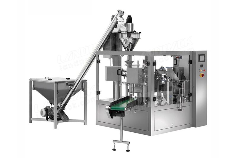 Doypack Packing Machine For Powder,Washing Powder, Milk Powde Etc.