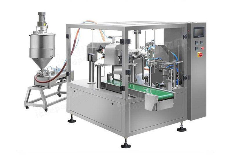 Automatic Liquid Premade Pouch Rotary Packing Machine