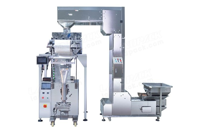 2 or 4 Head Linear Weigher Packaging Machine