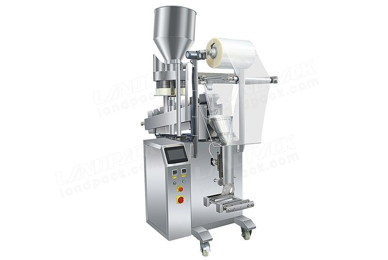 Semi-Automatic Packing Machine With Volumetric Cup And Chain Bucket  LD-320AB