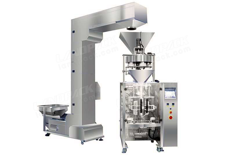 Economical Volumetric Cup Filling Packing Machine LD-420C