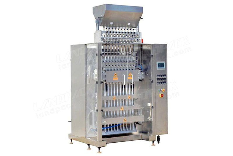 Multi line sugar sachet packing machine LD-10L