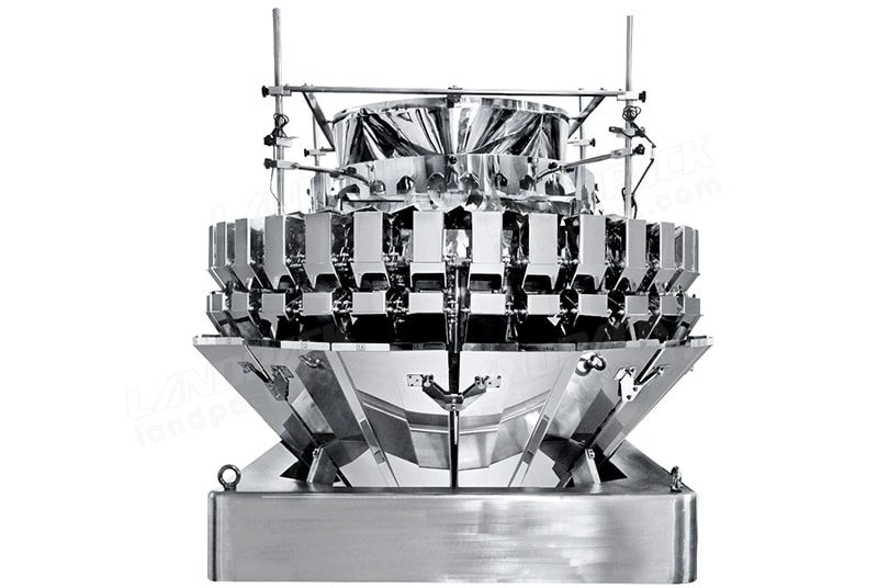 32 Heads Mixed of four products weigher 0.5L