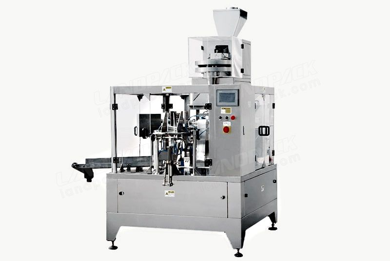 given bag packing machine