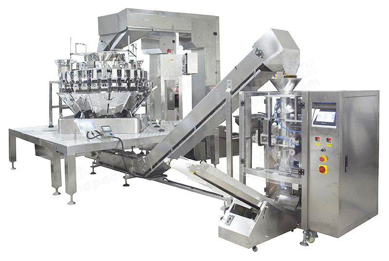 Multi-Granule Mixed VFFS Packaging Machinery With Multihead Weigher