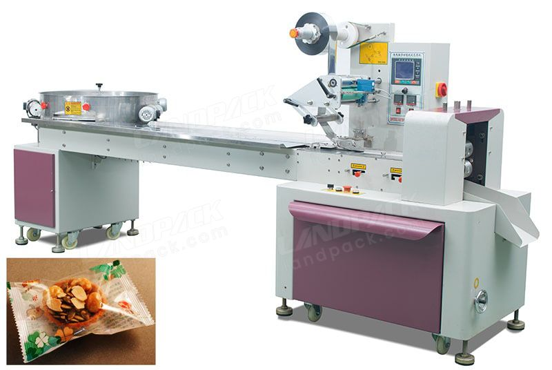 Single Candy/ Jujube Turntable Type Feeding Packing Machine (HFFS)