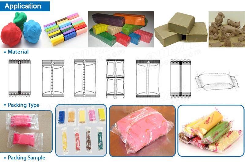 Plasticine packing machine
