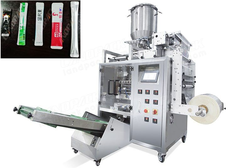 Multi Lane Liquid Packaging Machine, Liquid Stick Packing Machine.