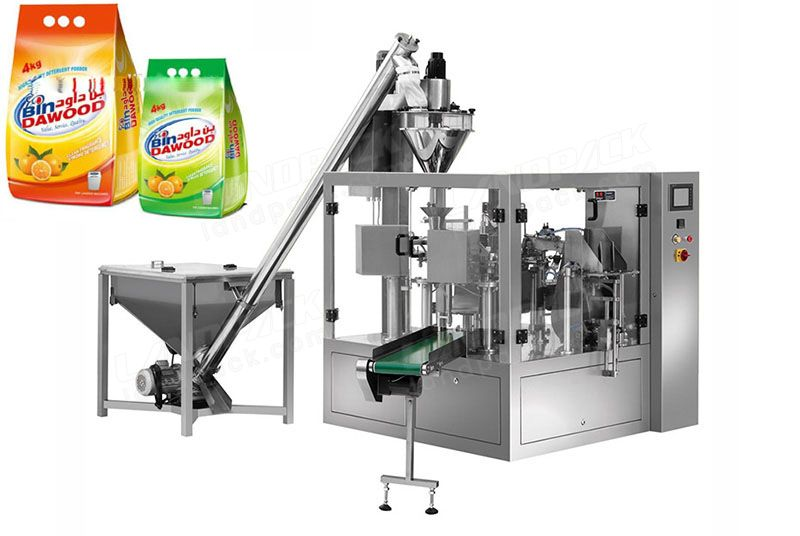 Powder premade pouch rotary doypack machine LD-8200D/LD-8250D