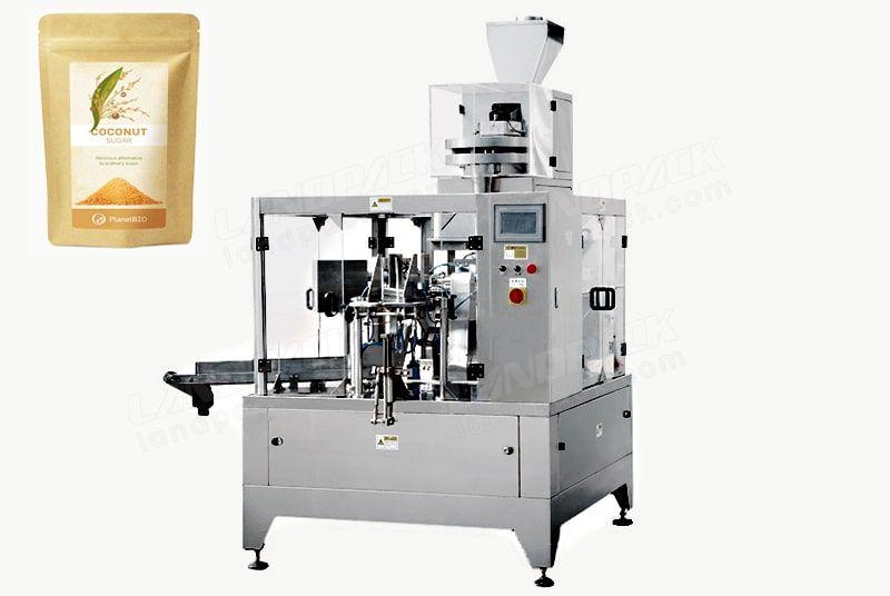 10-1000g Sugar/Salt Doypack Machine For Premade/Zipper/Stand-Up Pouch Etc.