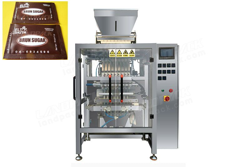 Multi Lane Sugar/ Salt Stick Packing Machine LD-G8L