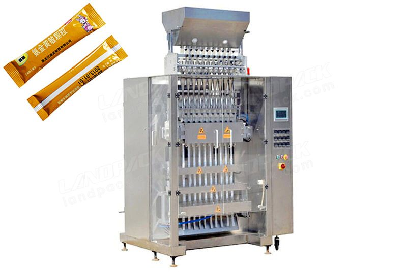Multi Line Sugar/Salt Stick Packing Machine LD-10L