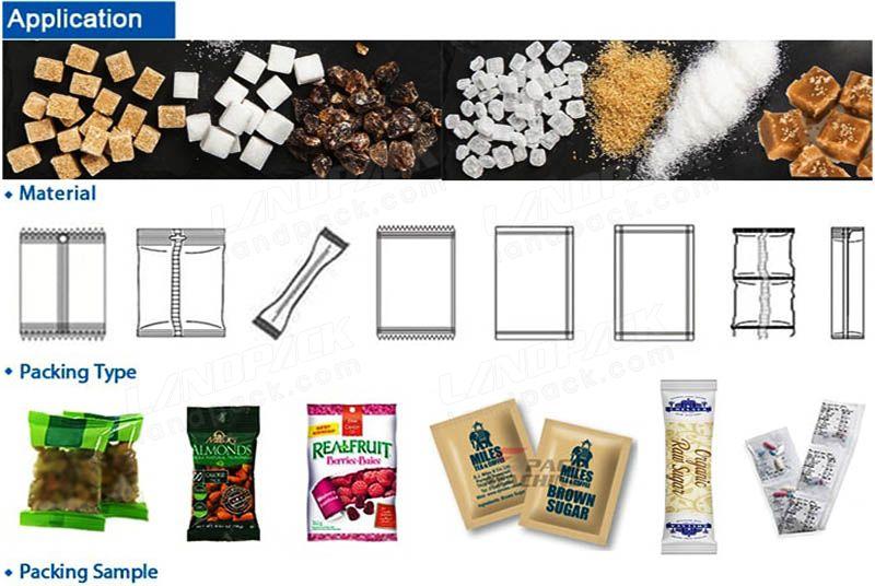 packing machine sugar