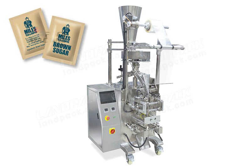 4 Side Sealing Coffee Sachet Packaging Machine