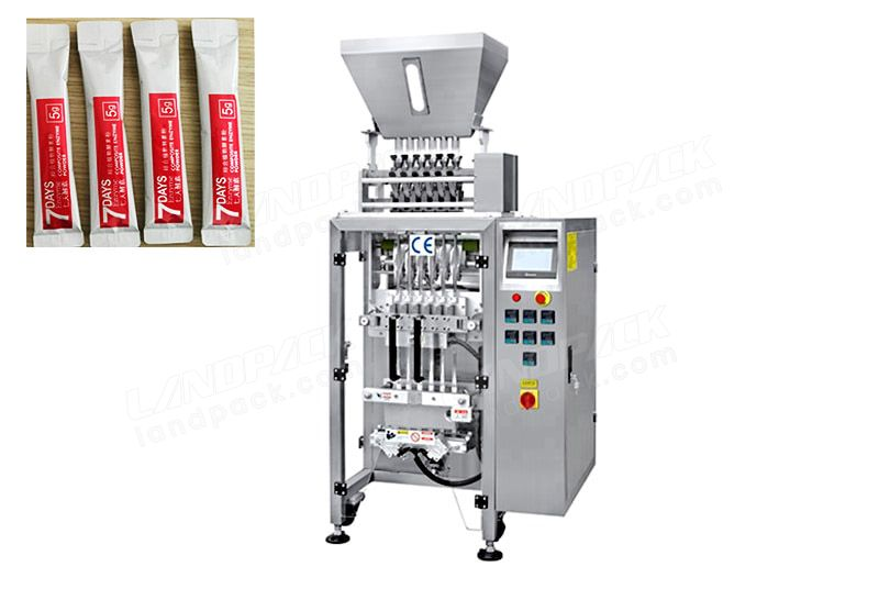 Multi Lane Sugar/Salt Stick Packing Machine