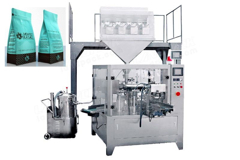 premade pouch fill and seal machine