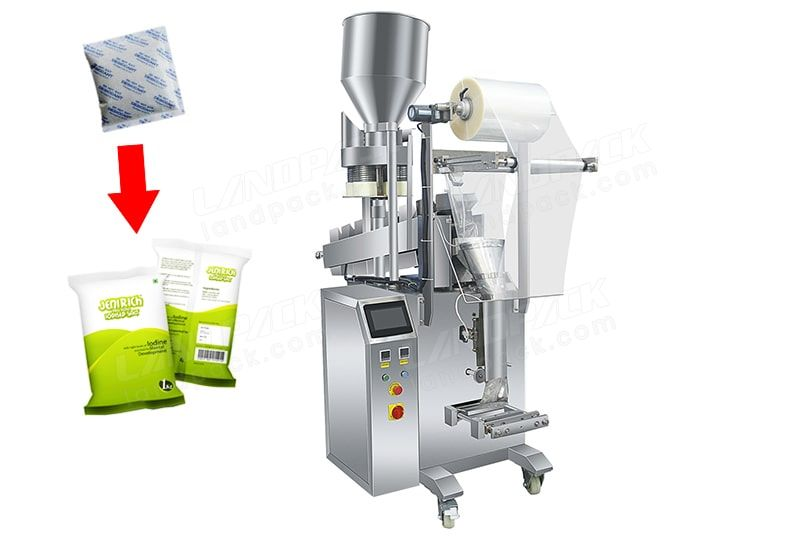 Sugar/ Salt Mixed Desiccant Pouch Packing Machine