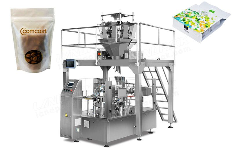 Premade Pouch Granular Rotary Packing Machine/ Doypack Machine