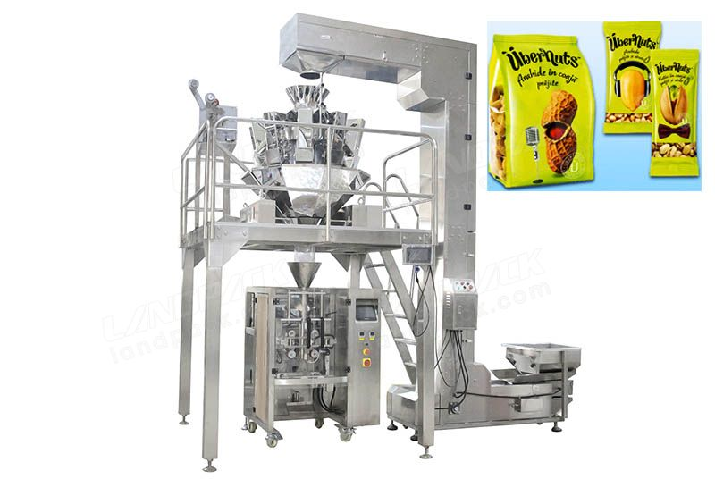 High Precision Multihead Weigher Nuts Packing Machine