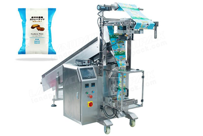 Semi-Automatic Nuts Packing Machine With Chain-type Batchers