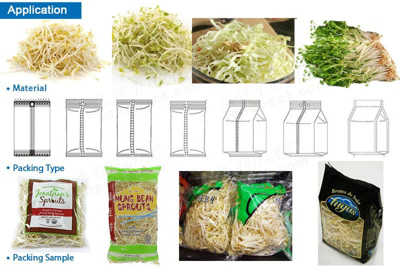 Sprouts Packing Machine