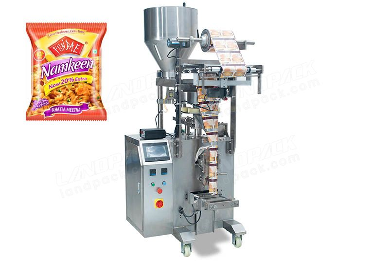 Chips/ Crisps/ Popcorn/ Granular/ Strip and Flake Sachet Packing Machine