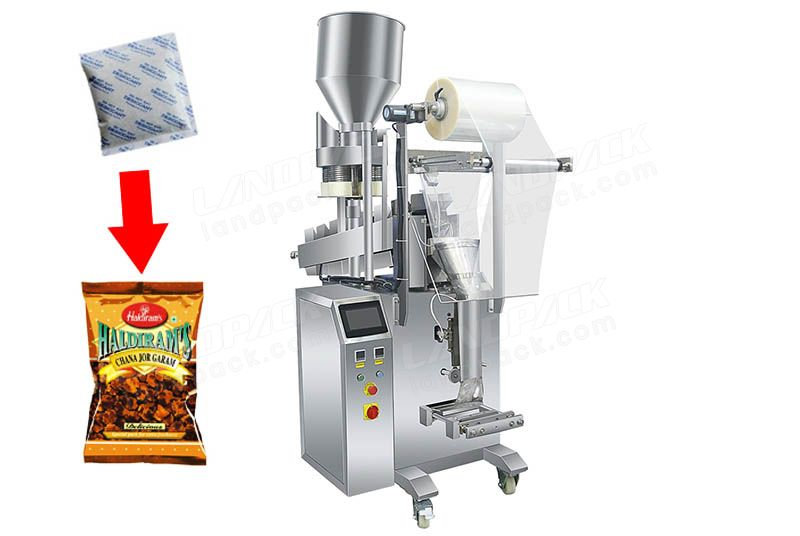 Chips/ Crisps/ Snack Pouch with Desiccant Packing Machine