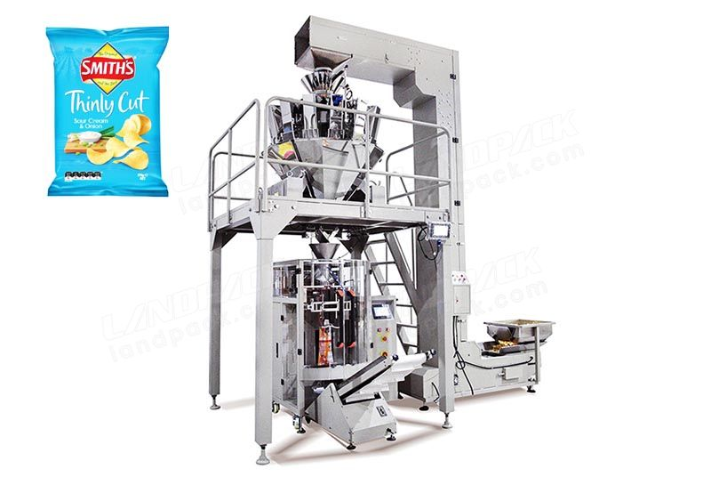 High Speed Potato Chips/ Popcorn Packing Machine 30-300bag/min