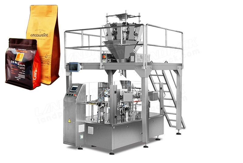 Coffee Beans Rotary Packing Machine For Premade Pouch/ Zipper Pouch Etc.