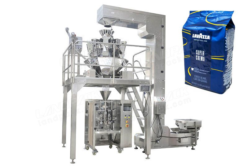 High Precision Multihead Weigher Coffee Beans Packing Machine