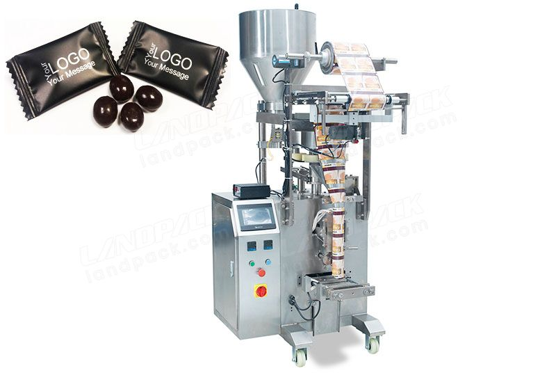 Coffee Beans Packaging Machine With Measuring Cups Equipment