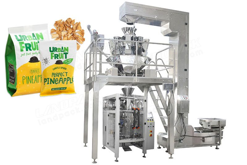 High Precision Dry Fruit Quad Seal Bag/ Block Bottom Pouch Packing Machine