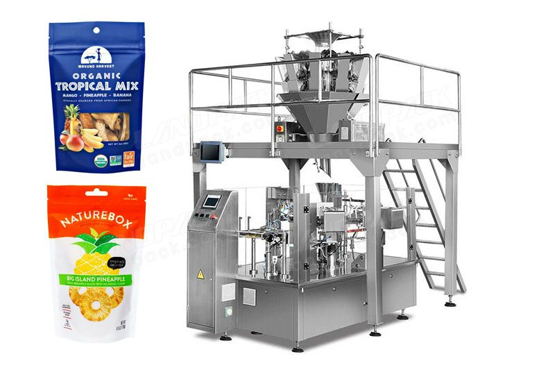 Premade Pouch Dry Fruit Rotary Packing Machine/ Doypack Machine