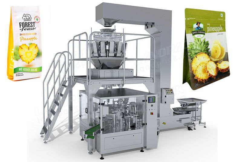 Dried Fruit Rotary Packing Machine For Premade Pouch/ Zipper Pouch Etc.