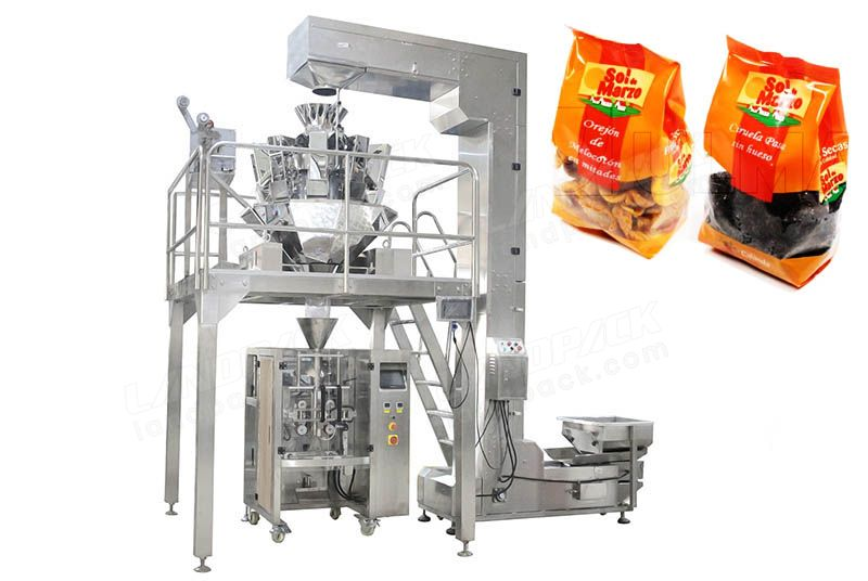 High Precision Multihead Weigher Dry Fruit Packaging Machine