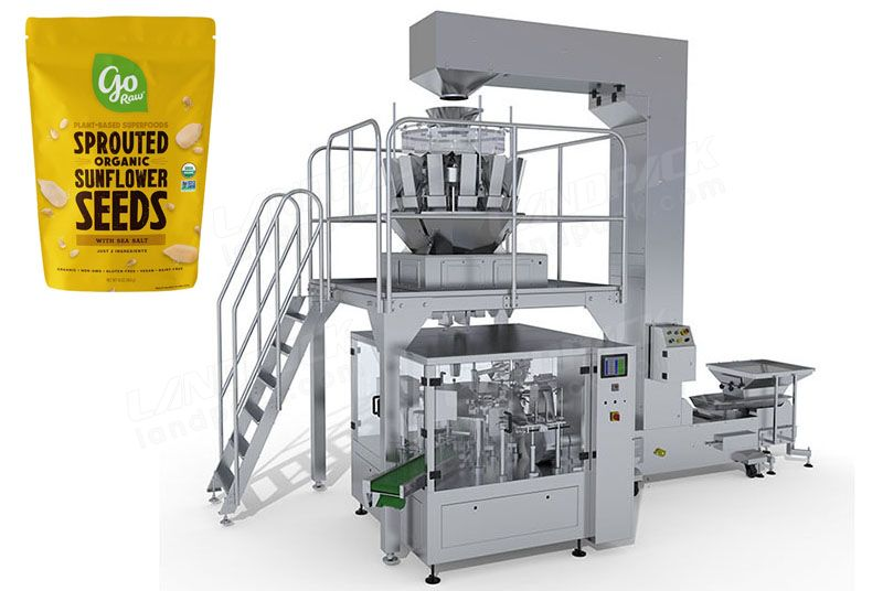 Seeds Rotary Packing Machine For Premade Pouch/ Zipper Pouch Etc.