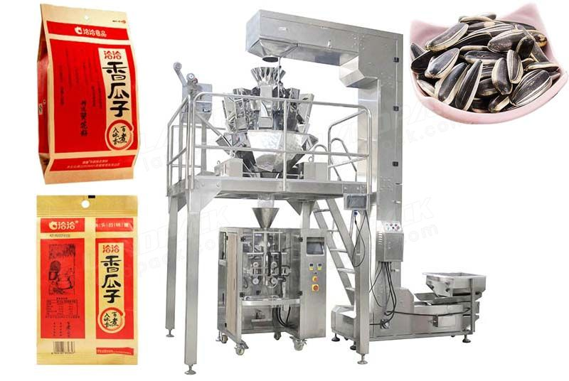 High Precision Multihead Weigher Sunflower Seeds Packing Machine