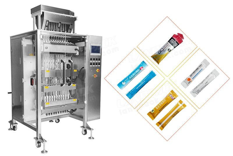 Multi-Line Back Sealing Powder Packaging Machine