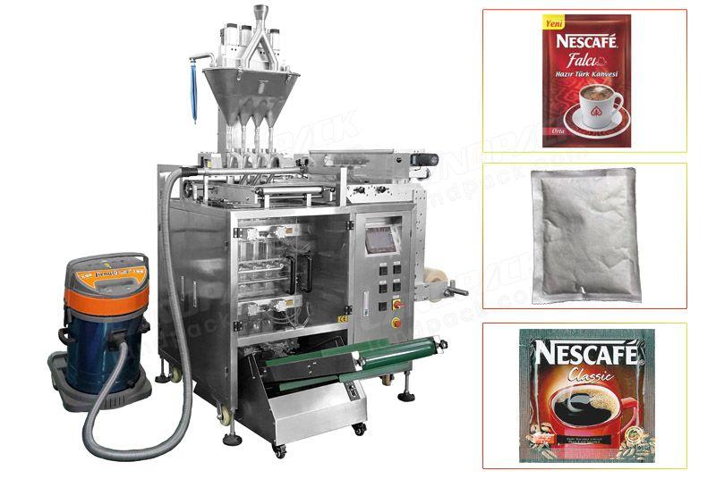 Multi Line Side Sealing Bag Powder Packing Machine