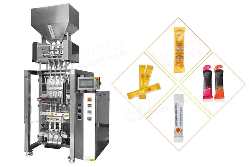 Multi-Line Back Sealing Granule Packing Machine.