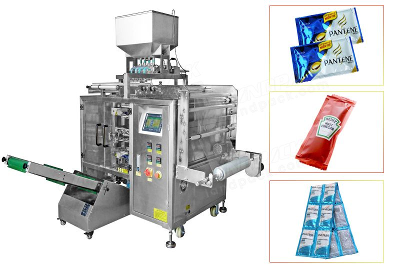 Automatic Multilane Sauce/ Jam/ ketchup Sachet Packing Machine