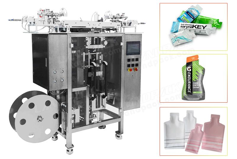 Multi Track Irregular Shape Sachet Liquid Packing Machine.